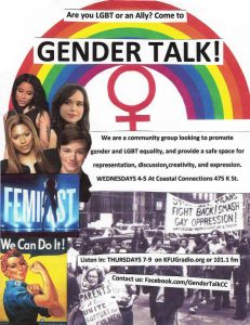 Gender Talk Flyer
