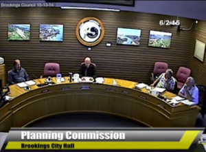 June 2, 2015, Brookings Planning Commission Meeting