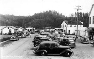 Lakeside Main Street, 1940