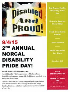 Disability Pride Day Flyer