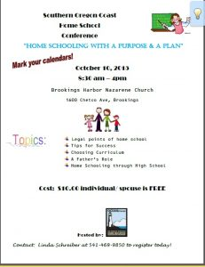 Homeschooling Conference Flyer