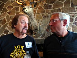 Skip Hunter and Ron Hedenskog