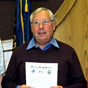 Brookings Mayor Ron Hedenskog