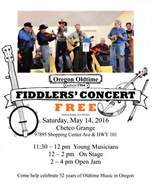 Grange Fiddlers Concert