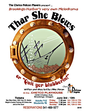 Thar She Blows Poster