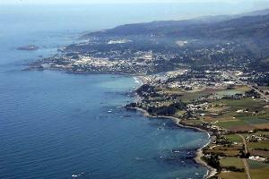 Brookings-Harbor Aerial Photo