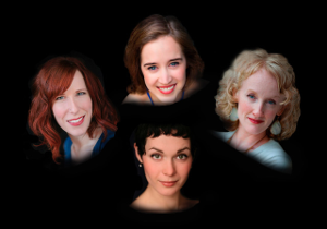 Earhart Quartet Sarah Moyer and Brenna Wells, sopranos Christina English, Mezzo-soprano Emily Marvosh, Alto